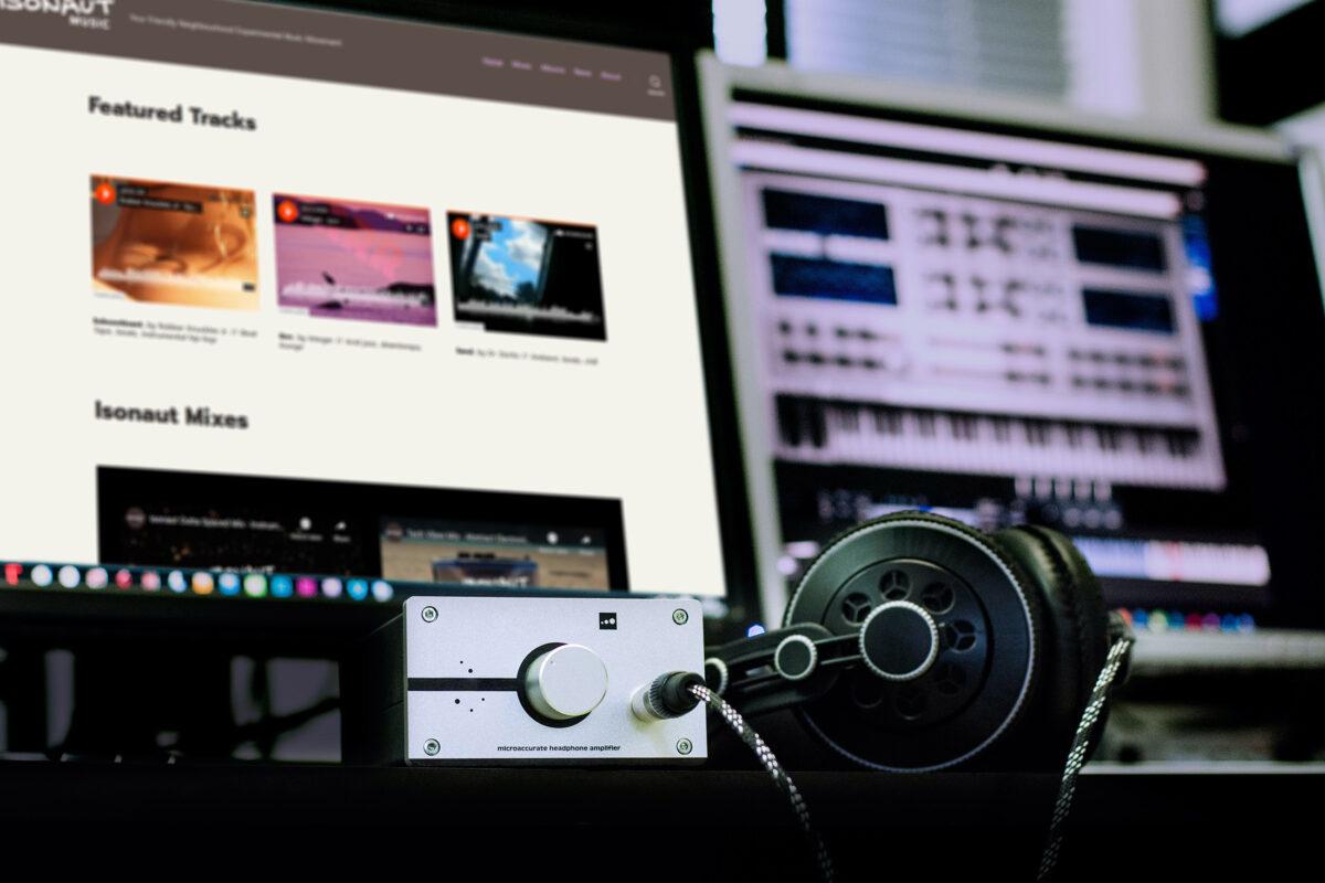 Isonaut Music Site at the studio