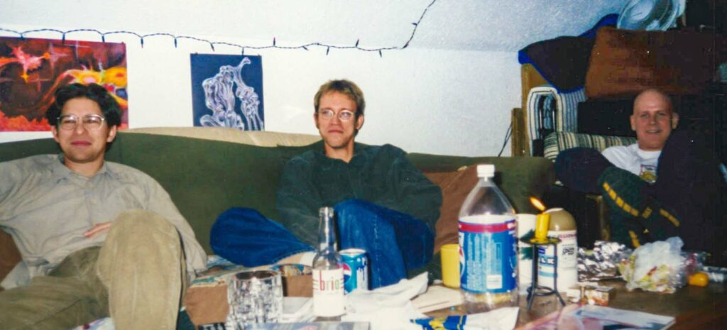 Daryl Askeky, Andrei Androsoff, and Jamie Tait - early 2000s.